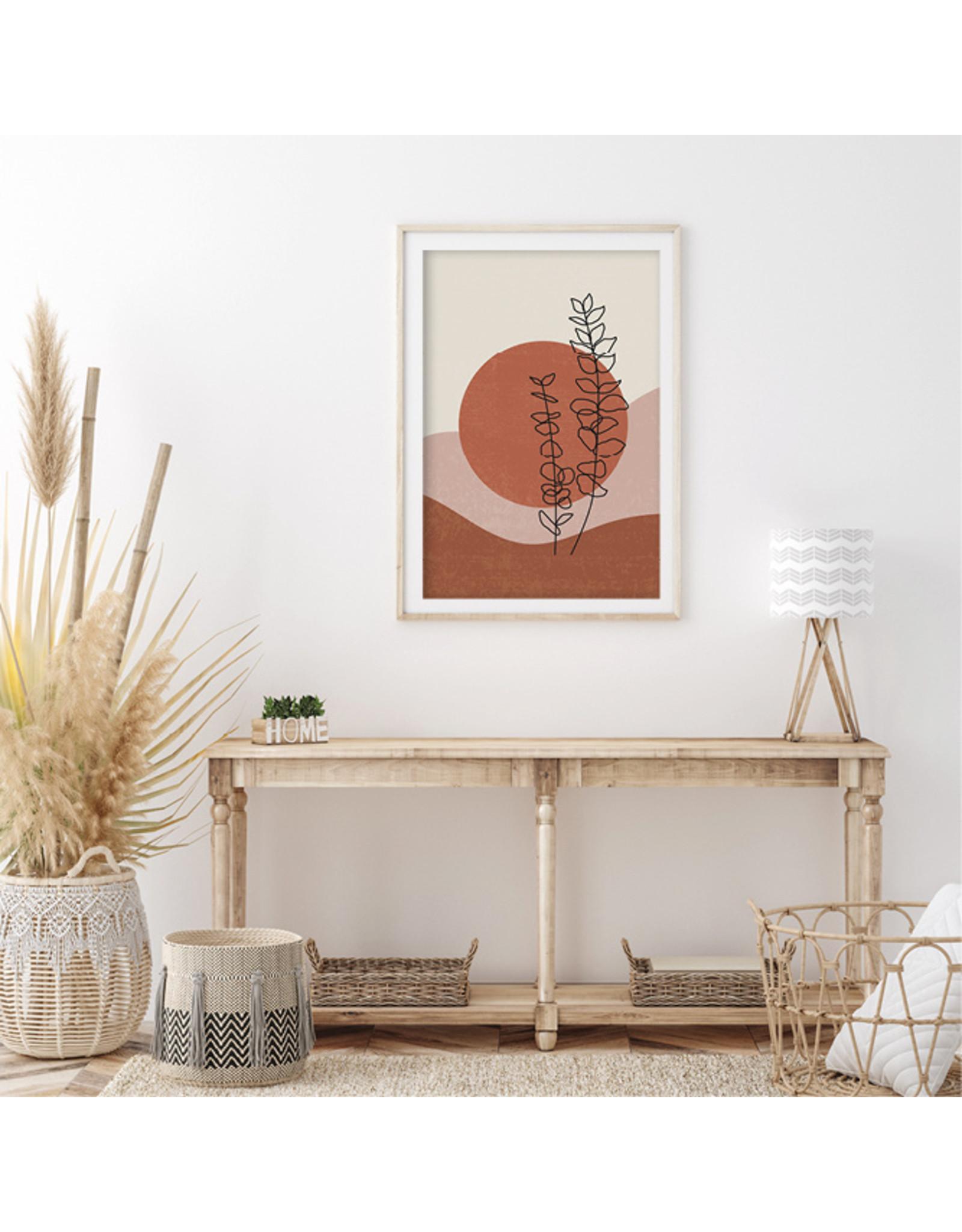 Dunnebier Home Poster Red sun