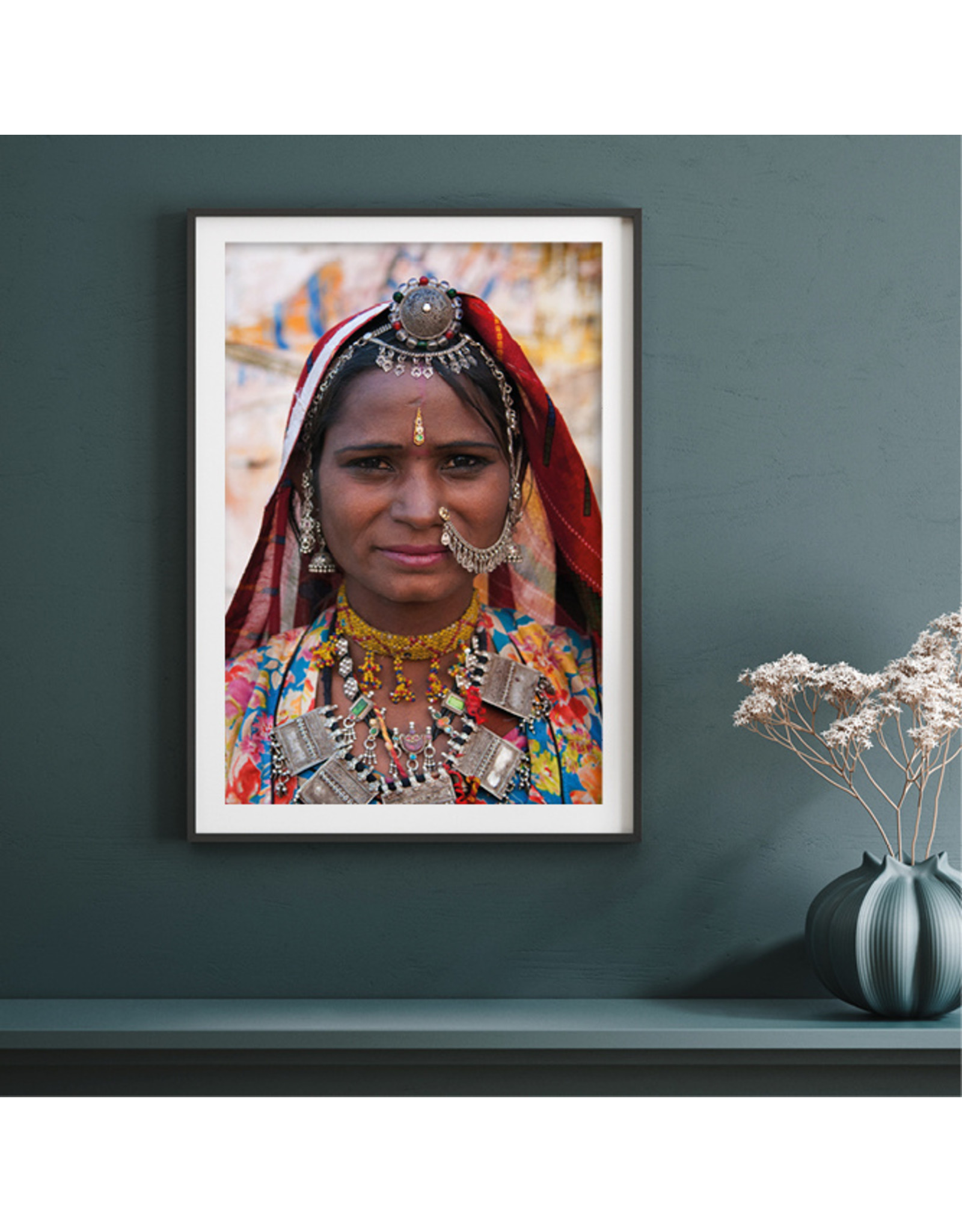 Dunnebier Home Poster Rajasthani woman