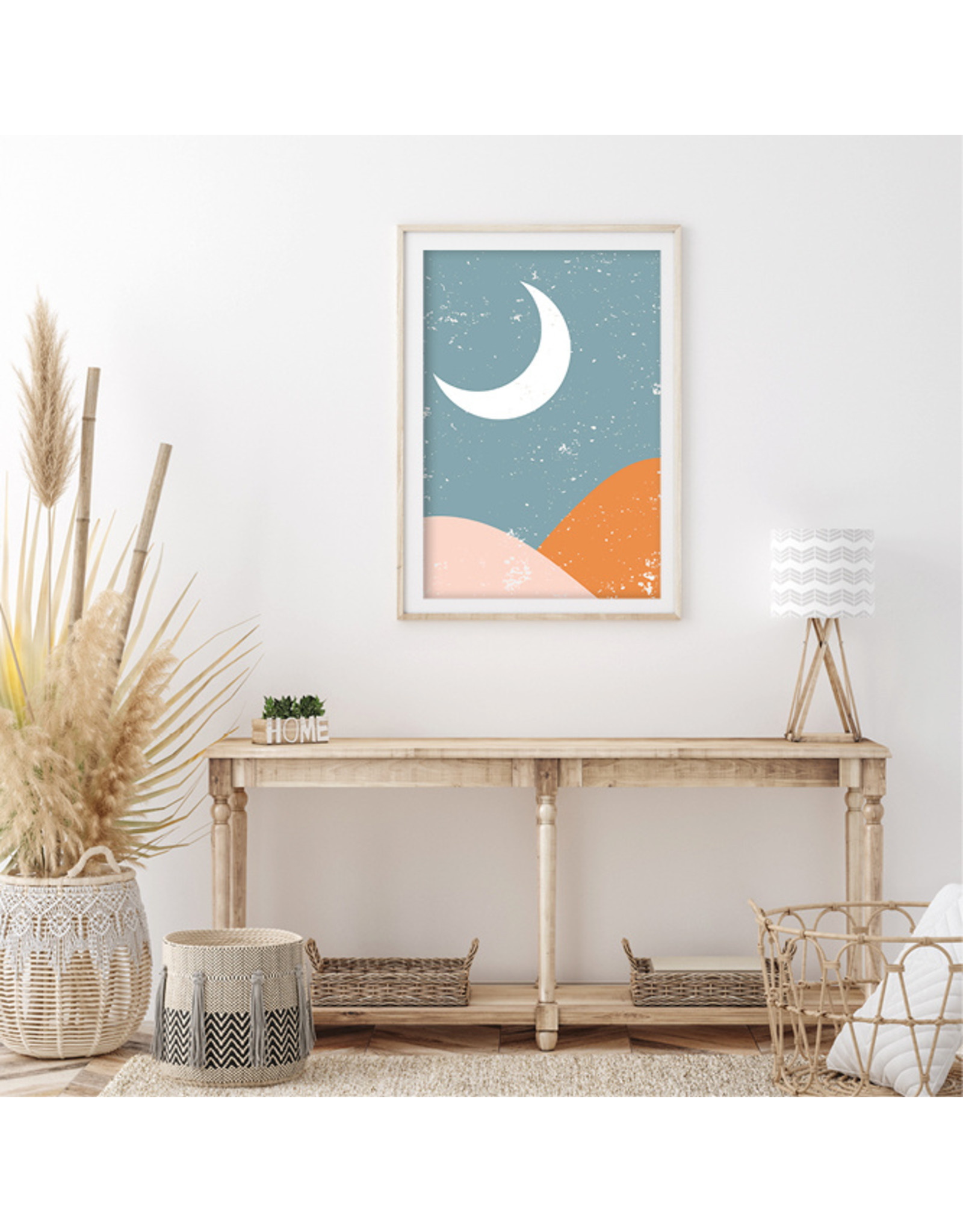 Dunnebier Home Poster Nighttime Graphic