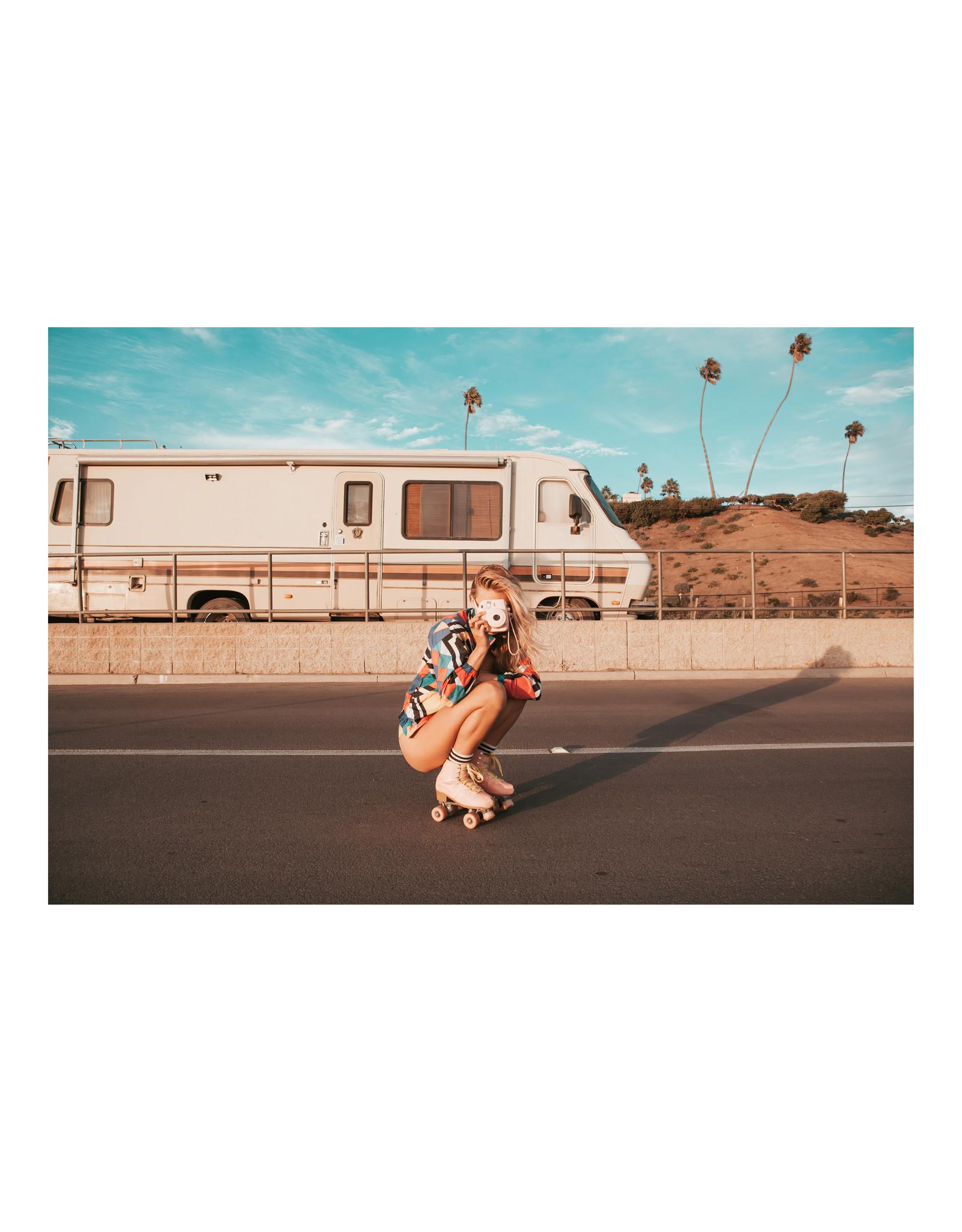 Dunnebier Home Poster Meisje op rollerskates