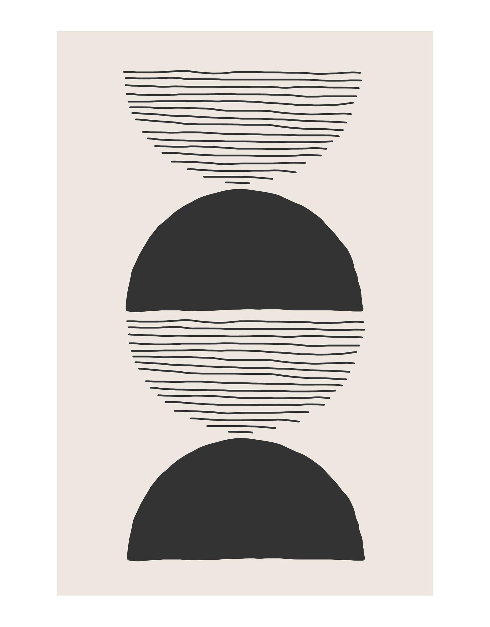 Dunnebier Home Poster Cirdle&stripesNo3