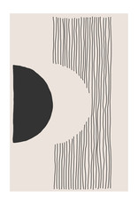 Dunnebier Home Poster Circle and stripes_No4