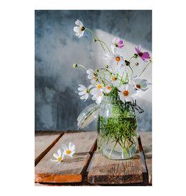 Dunnebier Home Poster Bloemen in weckpot