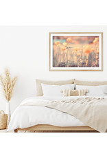 Dunnebier Home Poster Bloemen in oranje licht