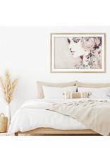 Dunnebier Home Poster Aquarel van een vrouw