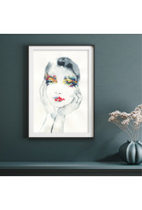Dunnebier Home Poster Aquarel eyeshadow No2