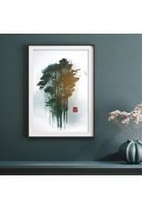 Dunnebier Home Poster Aquarel bomen