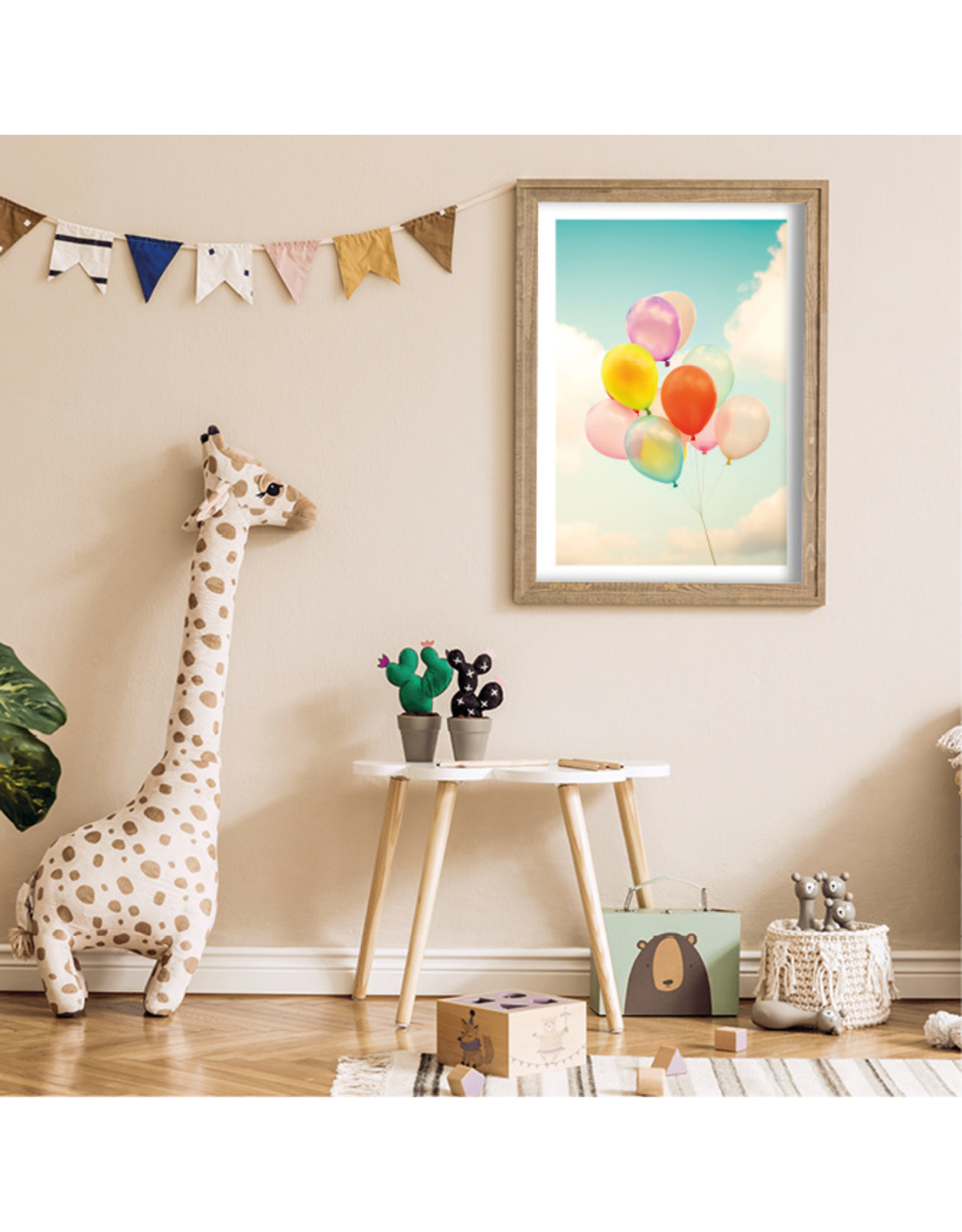 Dunnebier Home Poster Balonnen