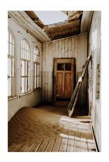 Dunnebier Home Poster Huis in verlaten stad in Namibie