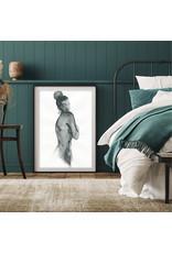 Dunnebier Home Poster Aquarel van een vrouw naakt