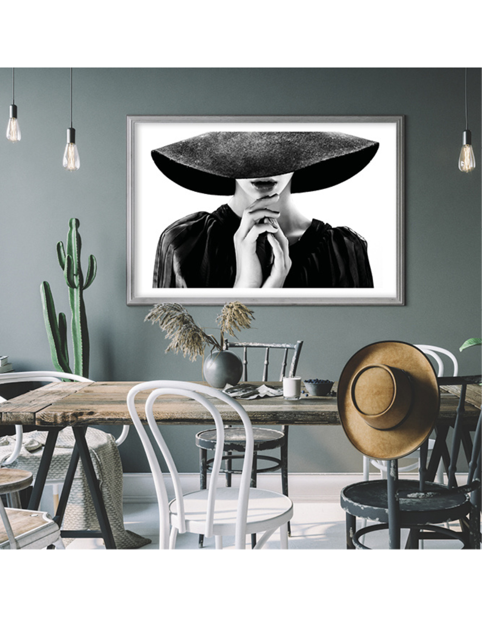 Dunnebier Home Poster Woman with hat