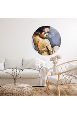 Dunnebier Home Muursticker Woman_painting - verwijderbaar