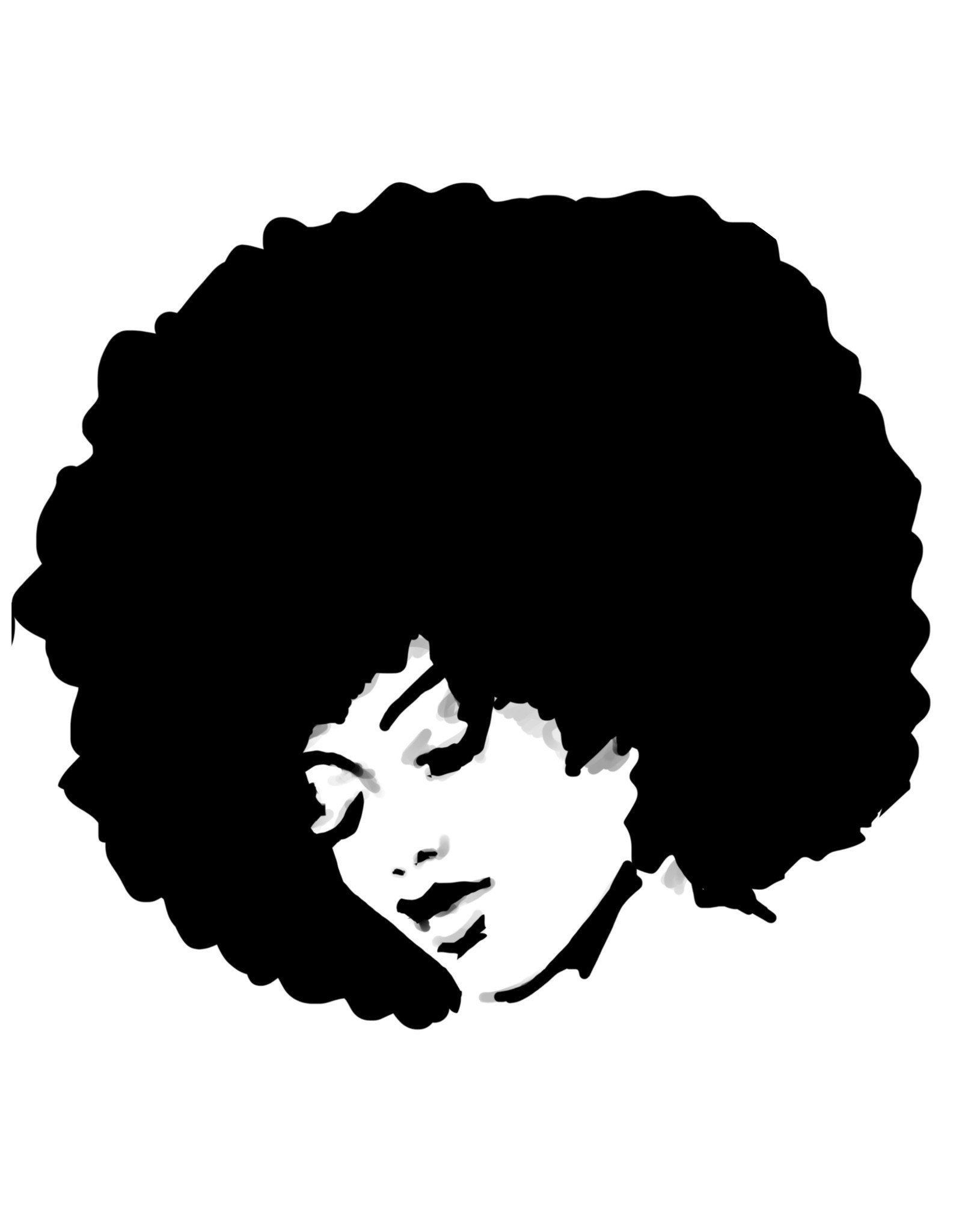 Dunnebier Home Muursticker Woman_drawing_No4  - verwijderbaar