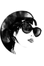 Dunnebier Home Muursticker Woman_drawing_No3 - verwijderbaar