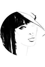 Dunnebier Home Woman_drawing - verwijderbaar