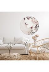 Dunnebier Home Muursticker Vrouw_aquarel - verwijderbaar