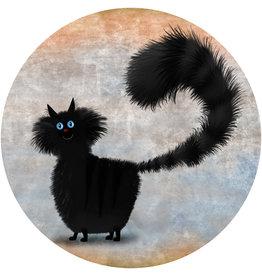 Dunnebier Home Muursticker Black Cat_No3