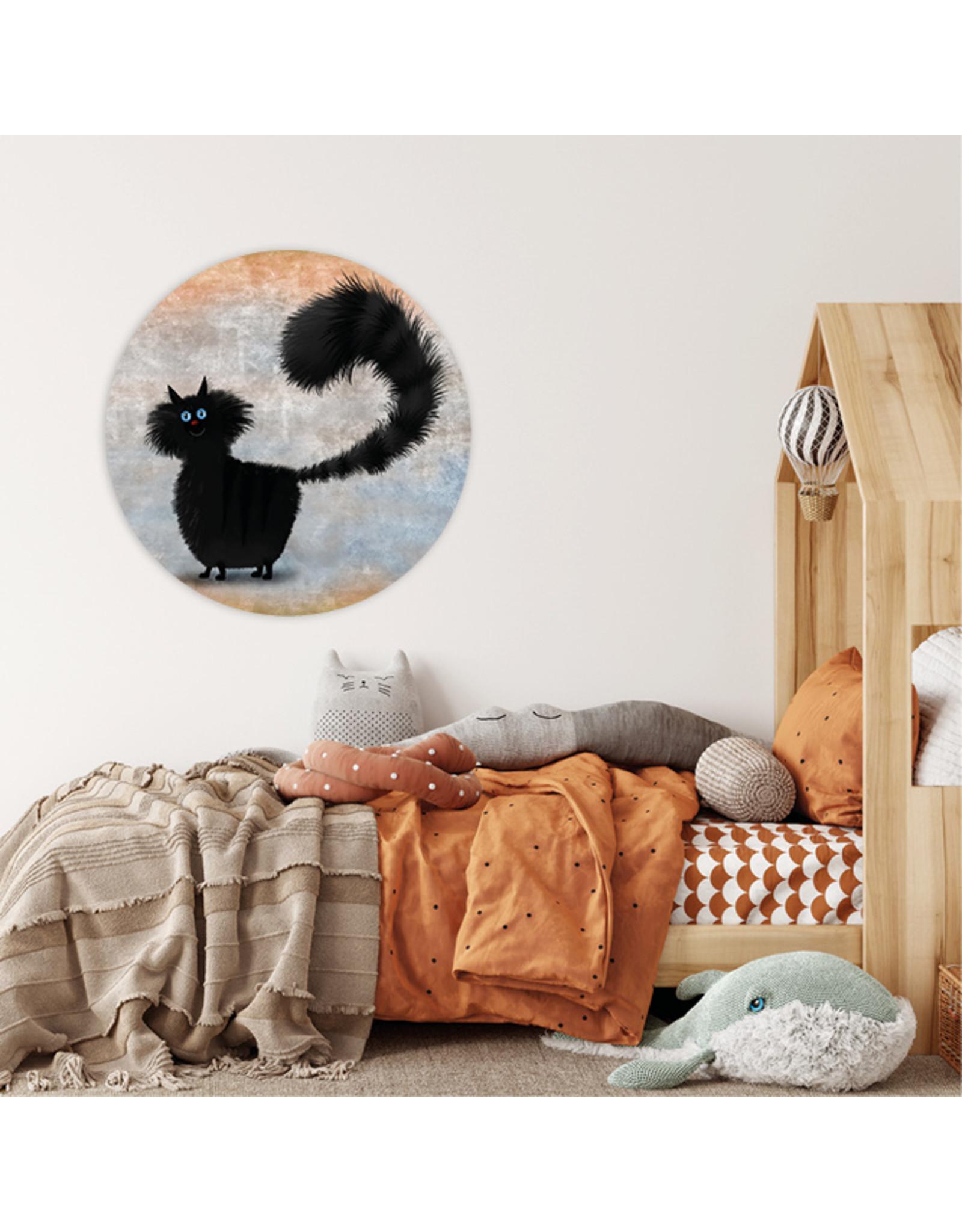 Dunnebier Home Muursticker Black Cat_No3 - verwijderbaar