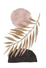 Dunnebier Home Poster Tropisch blad
