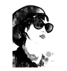 Dunnebier Home Poster Tekening van een vrouw
