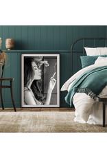 Dunnebier Home Poster Smoking girl_No2