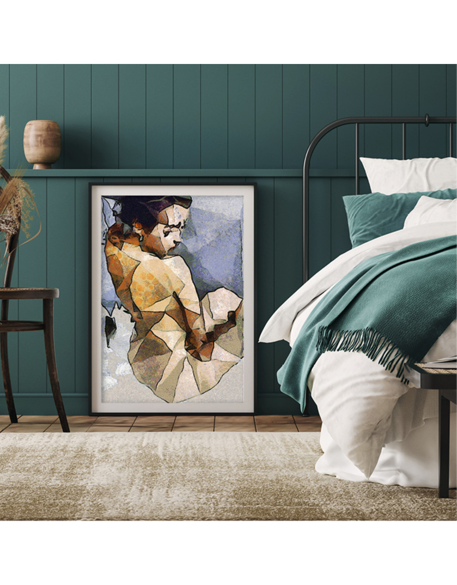 Dunnebier Home Poster Painting of a woman