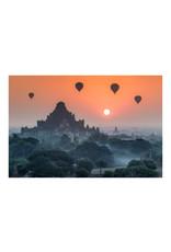 Dunnebier Home Poster Heteluchtbalonnen boven Bagan_Myanmar