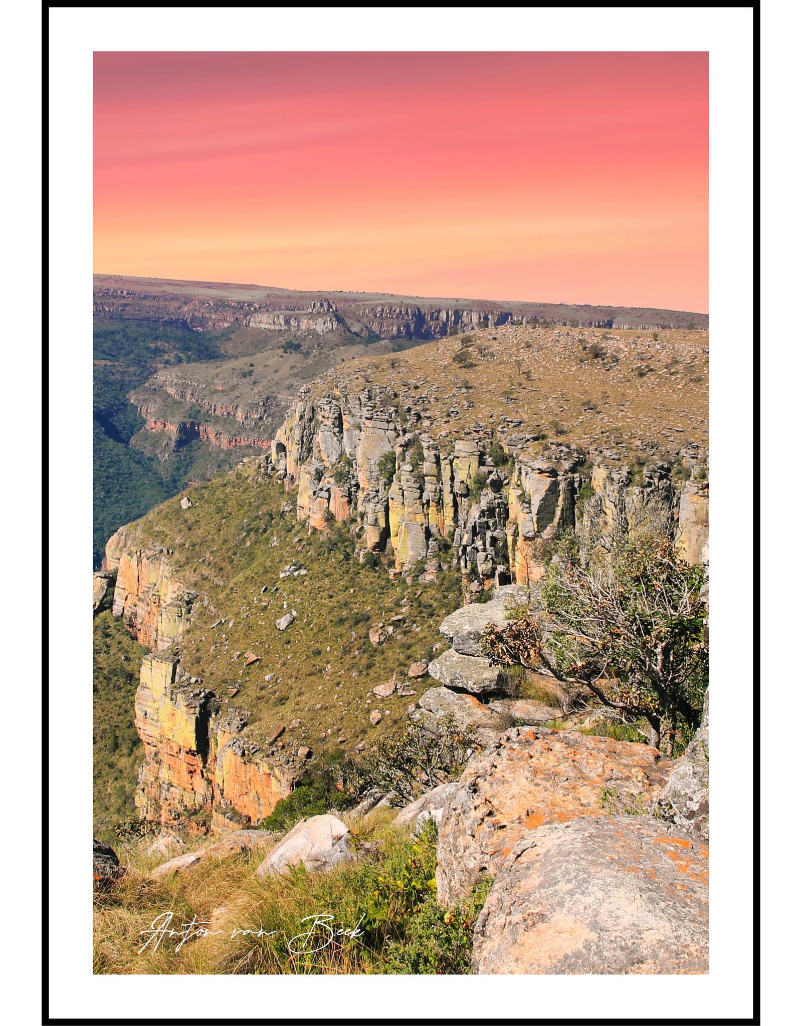 Dunnebier Home Poster Zuid Afrika - Anton van Beek Collectie