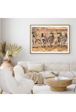 Dunnebier Home Poster Zebra's - Anton van Beek Collectie