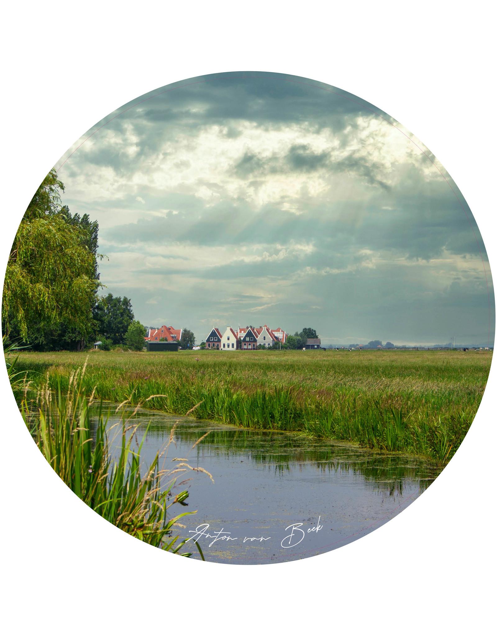 Dunnebier Home Muursticker Noord Holland - verwijderbaar