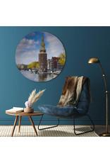 Dunnebier Home Muursticker Montelbaanstoren - verwijderbaar