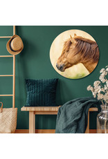 Dunnebier Home Muursticker Konik paard - verwijderbaar