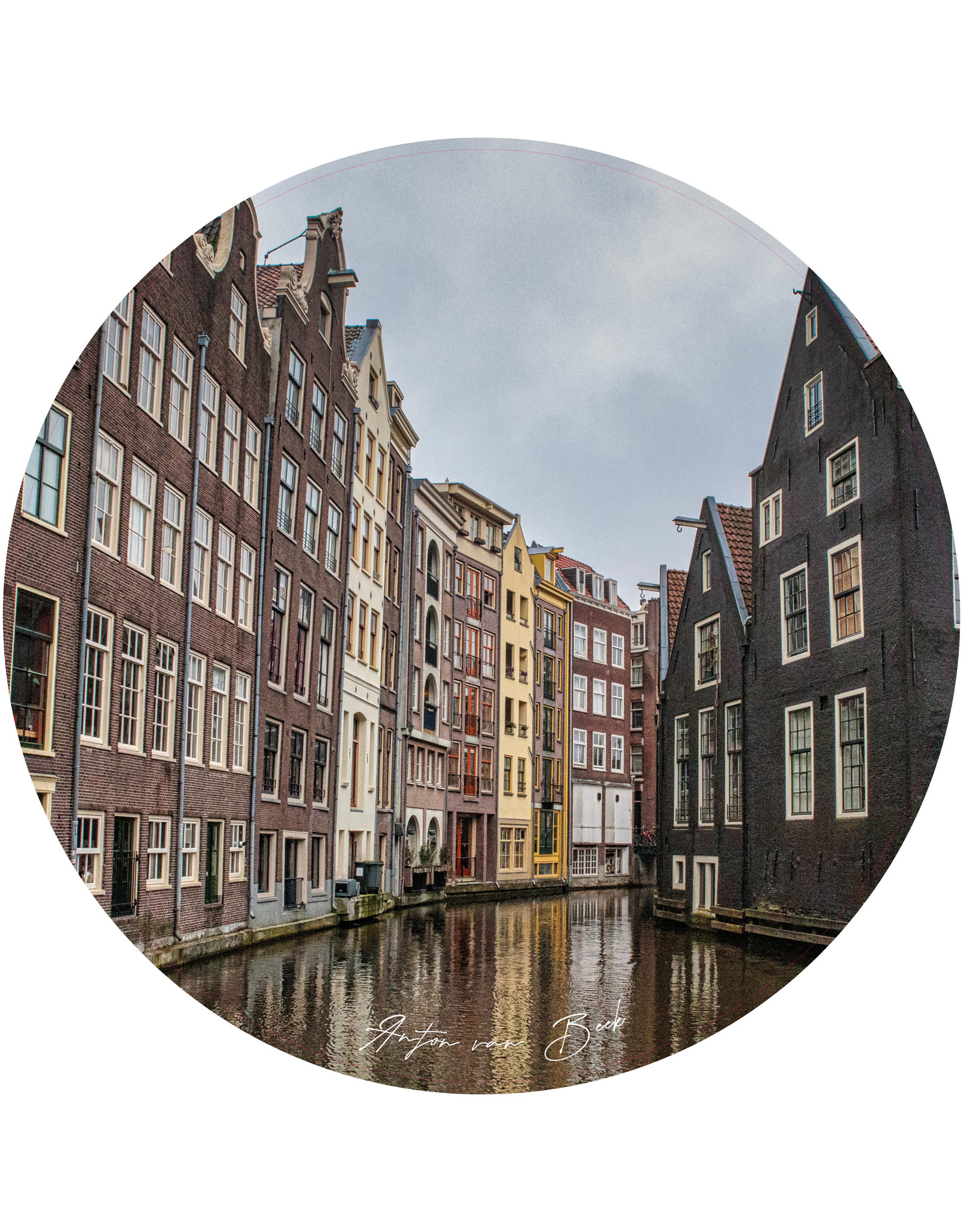 Dunnebier Home Muursticker Amsterdam - verwijderbaar