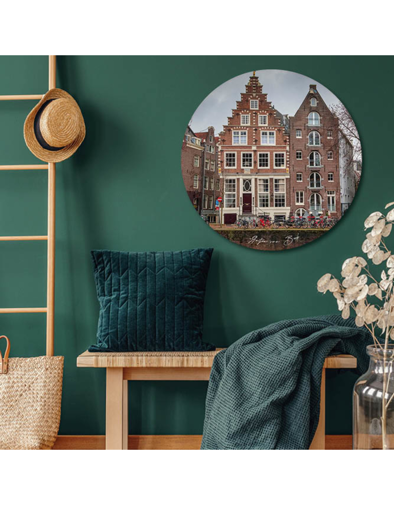 Dunnebier Home Muursticker Amsterdam_2 - verwijderbaar