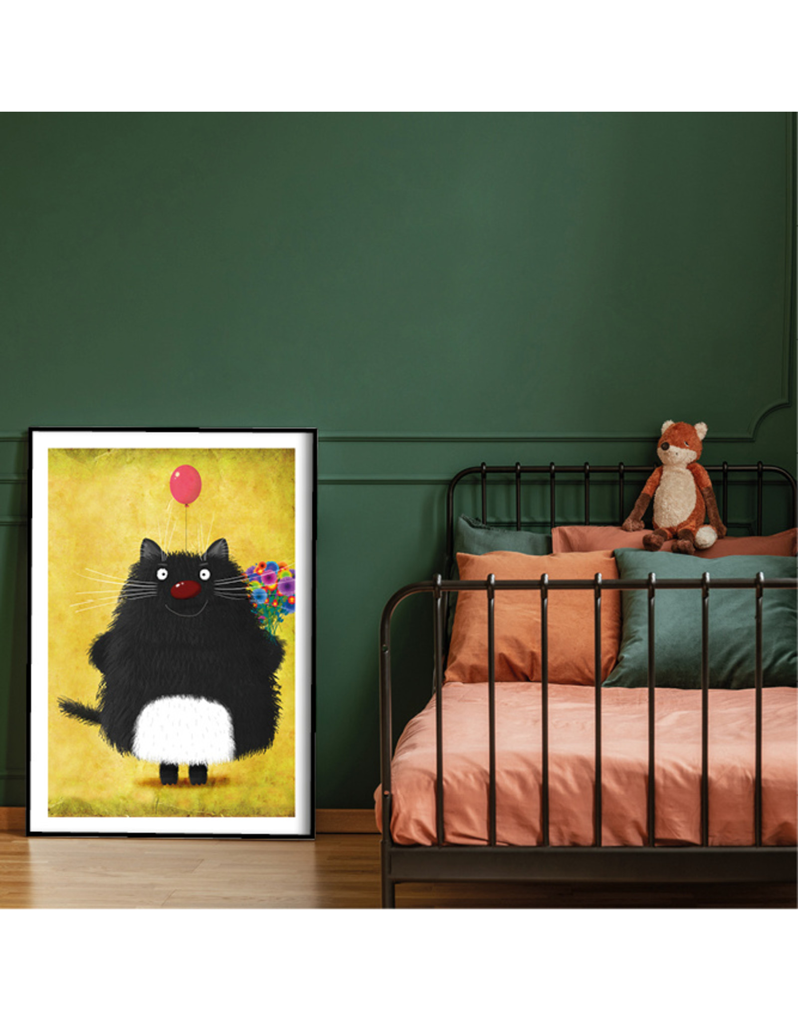 Dunnebier Home Poster Black Cat_No3