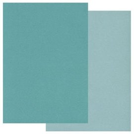 Groovi Groovi Parchment Paper A5 Two Tone Teal
