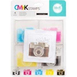 "We R Memory Keepers We R Memory Keepers CMYK Stamp 3""X3"" Camera"