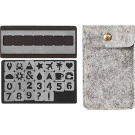 We R Memory Keepers We R Memory Keepers Journal Magnetic Stencils