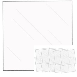 "We R Memory Keepers We R FUSEables Fuse Clear Sheets 12""X12"" 10/Pkg"