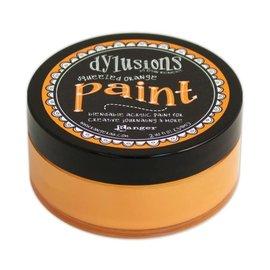 Ranger Dylusions paint squeezed orange