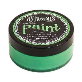 Ranger Dylusions paint cut grass