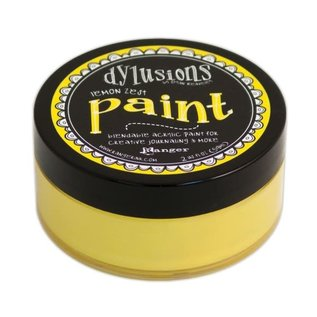 Ranger Dylusions paint lemon zest