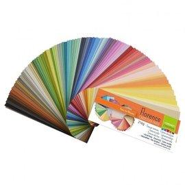 Florence • Cardstock texture kleurenkaart