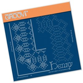 Groovi KING HENRY LACE DUET  A5 SQUARE GROOVI PIERCING GRID
