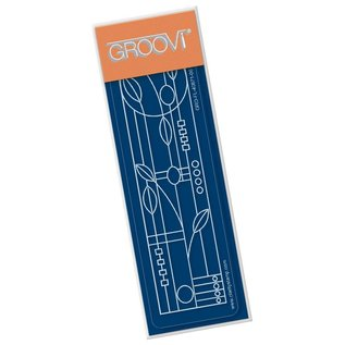 Groovi ART NOUVEAU FLORAL  GROOVI SPACER PLATE