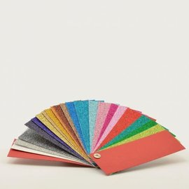 Florence • Glitter papier staalkaart