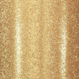 Florence • Glitter papier zelfklevend goud