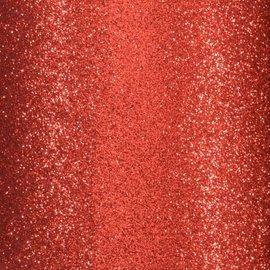 Florence • Glitter papier zelfklevend ROOD 30.5x30.5 cm