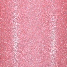 Florence • Glitter papier zelfklevend ROZE 30.5x30.5 cm