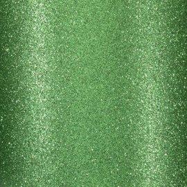 Florence • Glitter papier zelfklevend DONKER GROEN 30.5x30.5 cm